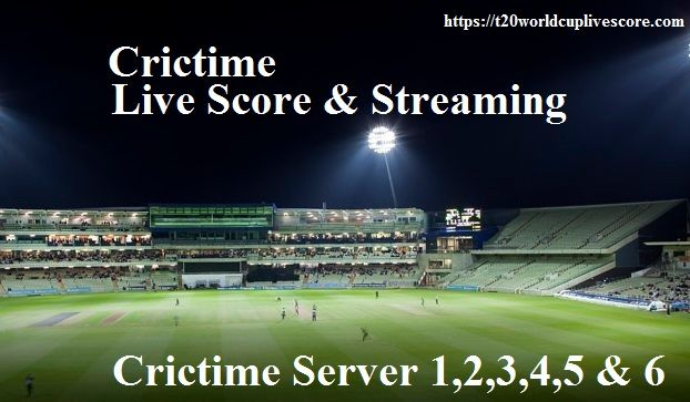 Crictime Live Cricket Streaming Score Watch Online Cricket Free