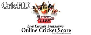 CricHD Live Cricket - Watch T20 World Cup 2020 Live Score & Streaming
