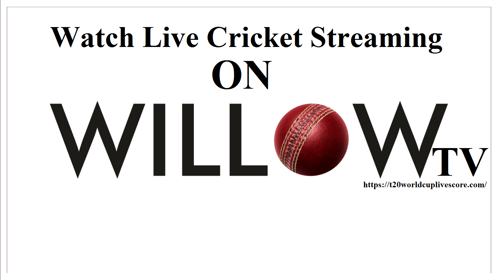 free online live cricket streaming hd