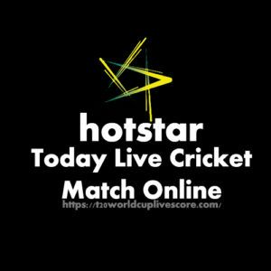 Hotstar Live Cricket Match Today Online - T20 WC 2021 Live Score