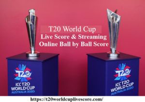 T20 World Cup 2021 Live Score & Streaming - Online Ball by Ball Score