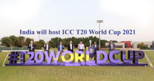 ICC T20 World Cup 2021 Venue Country - India 2021