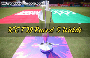 Top 5 Wickets Taker in T20 Cricket World Cup {Bowling Records}