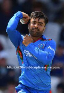 Rashid Khan 4 Wicket Taker in T20 Cricket