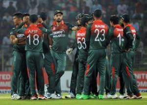 Bangladesh lowest team total