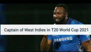 CAPTAIN OF WEST INDIES IN T20