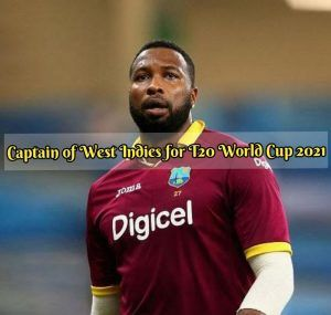 captain of west indies for t20 world cup 2021