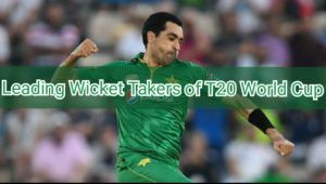 leading wicket takers