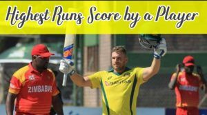 most runs score by player