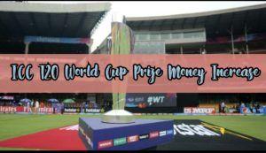 prize money increase