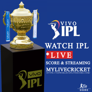 MyLiveCricket - IPL 2021 Live Cricket Score & Streaming Today Match