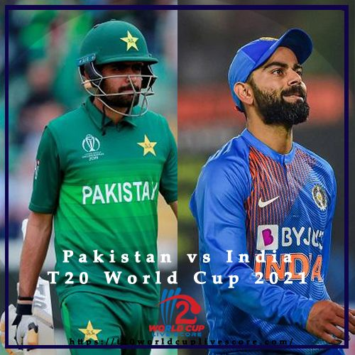 Pakistan vs India will Face Each other in T20 World Cup 2021 Super 12s