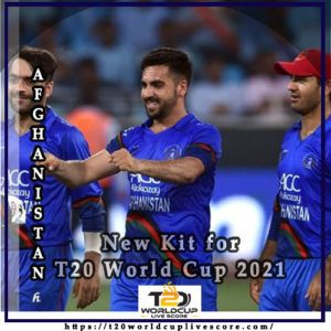 Afghanistan Team Kit - Afghan Cricket New Kit Jersey for T20 World Cup 2021