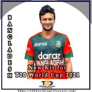 Bangladesh Team Kit - Bangladesh New Kit Jersey for T20 World Cup 2021