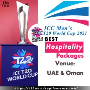 Best Hospitality Packages for T20 World Cup 2021 in UAE & Oman
