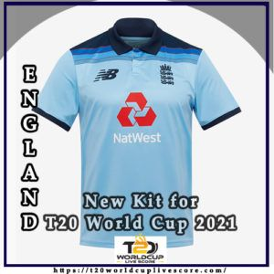England Team Kit - England New Kit Jersey for T20 World Cup 2021