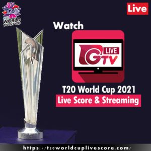 Ghazi TV Live Streaming – Watch T20 World Cup 2021 Today Match