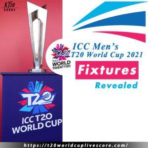 ICC T20 World Cup Fixtures Schedule 2021 Qualifiers Teams Fixtures Tickets Venue Broadcaster Rights