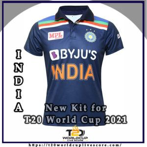 India Team Kit - India's New Kit for T20 World Cup 2021