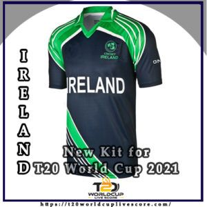 Ireland Team Kit - New Cricket Kit Jersey for T20 World Cup 202