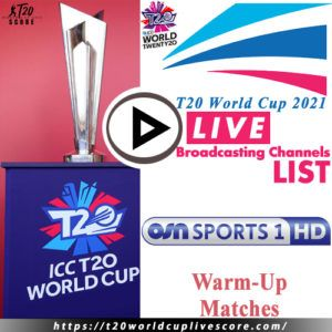 OSN Sports Live Cricket Score & Streaming T20 World Cup 2021