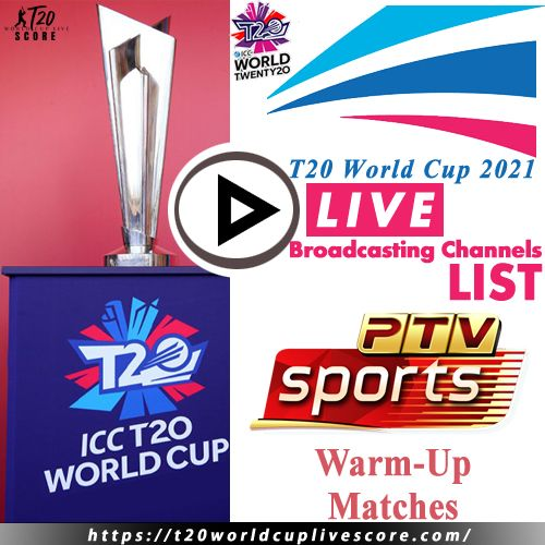 PTV Sports Live Cricket Score & Streaming T20 World Cup 2021