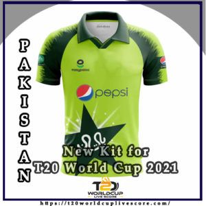 Pakistan Team Kit - Pakistan's New Kit for T20 World Cup 2021