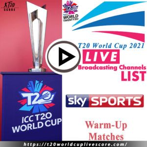 Sky Sports Live Cricket Score & Streaming T20 World Cup 2021