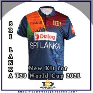 Sri Lanka team Kit - Sri Lanka New Kit jersey for T20 World Cup 2021