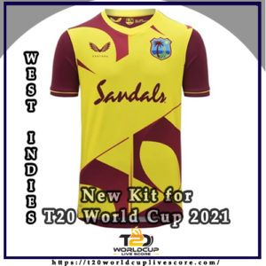 West Indies Team Kit - West Indies New Kit Jersey for T20 World Cup 2021