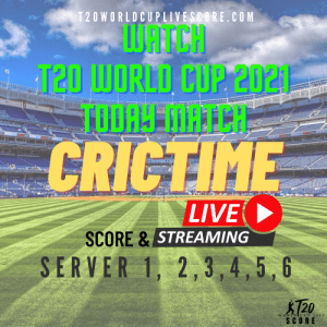 Crictime Live Cricket Streaming & Score - Today T20 WC Live Streaming