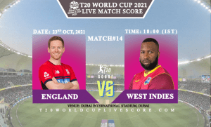 England vs West Indies Live Score 14th T20 WC Match Live Streaming