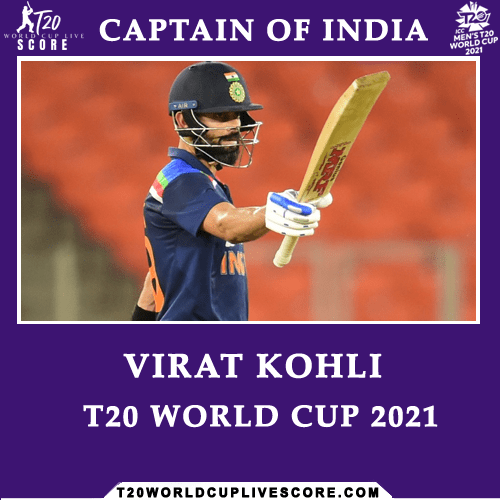 Who Will Be The Captain of India in ICC T20 World Cup 2021