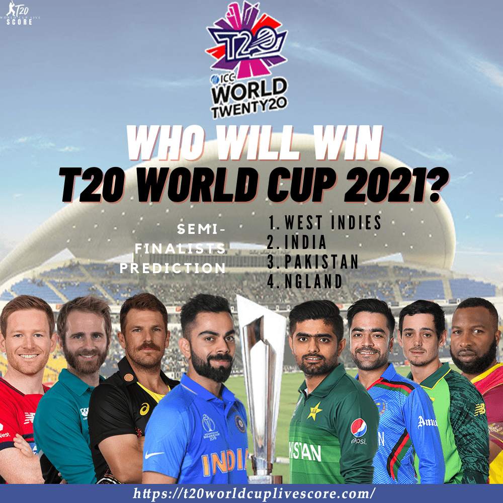 Who Will Win the T20 World Cup 2021 Trophy - Teams Predictions