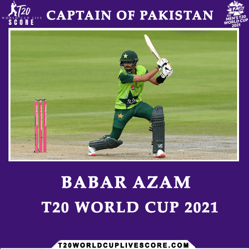 Who Will be the Captain of Pakistan in ICC T20 World Cup 2021