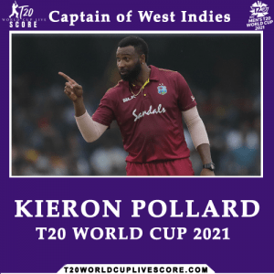 Who Will be the Captain of West Indies in the ICC T20 World Cup 2021